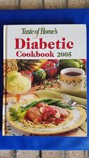 NEW BOOK:  Taste of Home DIABETIC 2005 Cookbook  DIABETES DIET Books on Sale Now