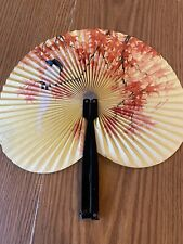 Vintage Folding Handheld Fan. Made in the People's Republic of China