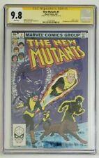 New Mutants #1 CGC 9.8 SS Signed Chris Claremont Origin of Karma 1983 White Pgs.