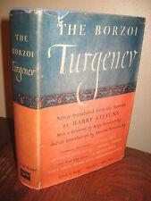 Borzoi Turgenev Stevens Fathers Sons 1st Edition 2nd Print Smoke Stories On Eve