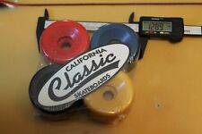 Usa Multi-Color Dogtown Sims Soft 65mm 1980's W1 Vintage Set 4 Skateboard Wheels
