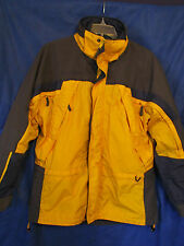 COLUMBIA Core Interchange FIRE RIDGE PARKA JACKET/COAT w/ZIP-OUT FLEECE LINER M