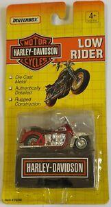 "Matchbox Harley Davidson Low Rider 2.75"" Red Version Diecast Model"