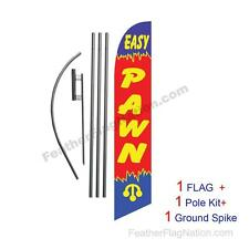 Easy Pawn Feather Banner Swooper Flag Kit with pole+spike
