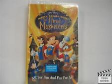 The Three Musketeers (VHS, 2004) Brand New Clam Shell