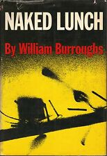 NAKED LUNCH-WILLIAM BURROUGHS-1959-1ST ED-W/$6.00 DJ-VERY NICE COLLECTIBLE!