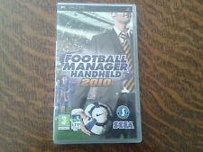 jeu psp football manager handheld 2010