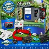 PetSafe Instant Fence Wireless 2 Dog PIF-275-19 Containment PIF-300 Free RFA-67