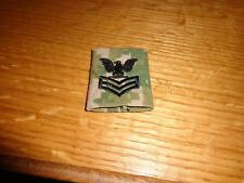 Nwu Woodland Devgru 1st Class Petty Officer Aor2 Type 2 Us Navy Rank Tab Used