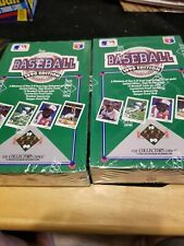 (2) 1990 UPPER DECK BASEBALL FOIL WAX PACK BOXES - FACTORY SEALED - SOSA RC ?