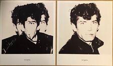 Robert Mapplethorpe & Keith Haring, Andy Warhol 1983 Mini Poster 29x24cm F234 /5