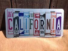 California License Plate Art Wholesale Novelty Bar Wall Decor
