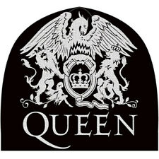 Queen 'Crest' (Black) Beanie Hat - NEW & OFFICIAL!