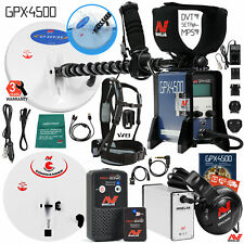 Minelab GPX 4500 Metal Detector Special with PRO-SONIC Wireless Audio System