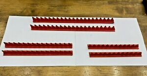 Snap-on Tools & Mac Tools USA Red Wrench Organizer Rail 6pc Lot Set KRA15 DW02