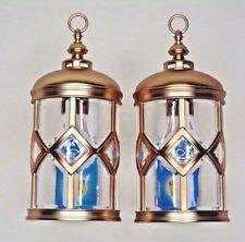 2 Bath & Body Works Wallflowers Fragrance Plug Round Lantern NIGHTLIGHT NEW