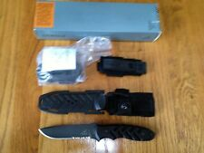 GERBER YARI II DROP POINT FIXED BLADE KNIFE SERRATED CPM-S30V USA 22-01144 RARE