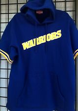 Golden State Warriors Mitchell & Ness #4 Webber Hooded Sweatshirt Size Large