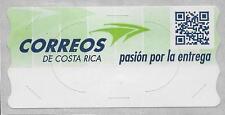 Costa Rica ATM Blank Label Correos de Costa Rica logo pasión por la entrega MNH
