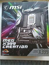 MSi AMD Meg X399 Creation Motherboard