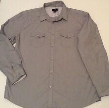 Calvin Klein used dress shirt Gray XL