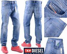 DIESEL BUSTER 0849A W32 L32 Mens Denim Jeans Regular Fit Straight
