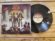 KISS LOVE GUN LP 33T VINYLE EX COVER EX ORIGINAL 1977