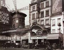 Moulin Rouge Nightclub Paris Travel Poster 24x36