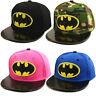 Toddler Boy Girl Cosplay SnapBack Batman Baseball Cap Kids Adjustable Sports Hat