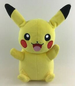Tomy Pokemon Pikachu Talking Light Up Sounds Plush Stuffed Toy Yellow Nintendo