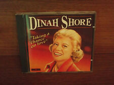 DINAH SHORE : Taking A Chamce On Love : CD Album : 1995 : CD 363