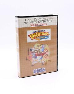 ► DESERT SPEEDTRAP ◄  OVP / BOXED ☆ Sega Master System ☆ 🔥🔥🔥