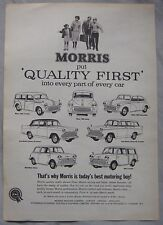 Morris Original advert No.1