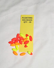 Floating Rig Beads Pack of 20 Mixed Colours - Sea, Freshwater Fishing