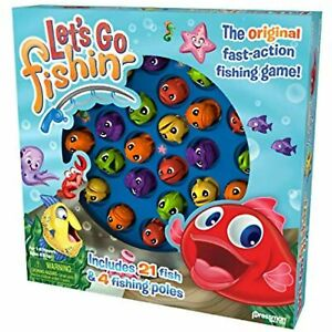 LET'S GO FISHIN THE ORIGINAL FAST ACTION FISHING GAME AGES 4 & UP FREE POSTAGE