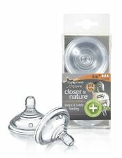 Tommee Tippee Closer to Nature Advanced Comfort Fast Flow 4 Teats 6m