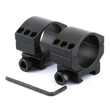 30mm Low Profile Heavy Duty Rifle Scope Mount Rings Weaver Picatinny Rail 20MM