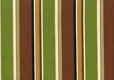 Richloom Fabric Martindale Stripe Maple Outdoor Stripe Drapery Upholstery