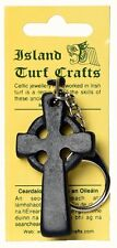 "Irish Turf Celtic Cross Keyring 2"" (MJ05) - Island Turf Crafts"