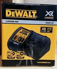 DEWALT DCB115-QW 10.8V/14.4V/18V/20V Max Battery Charger, Europe Version