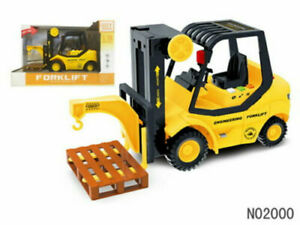1:16 Simulated Inertia Forklift Vehicle Model With Sound Preschool Learning Toy