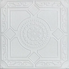"MAGIC 20/"" x 20/"" White DIY Glue Up Decorative Styrofoam Ceiling Tiles"