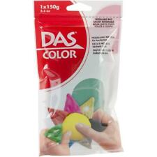 Clay Modeling Air Dry Green 5.3 Oz Resealable Bag DAS Prang Mixable 150g New