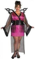 Ladies Plus GEISHA FAIRY Costume Halloween Japanese Fancy Dress Outfit - 18 -20