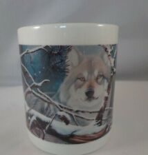 Coffee Cup Mug Eyes in the Mist Wolf Wolves National Wildlife Federation