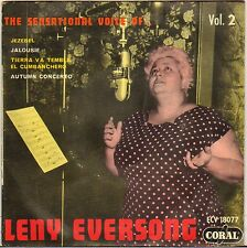 """LENY EVERSONG """"JEZEBEL"""" 50'S EP CORAL 18077"""