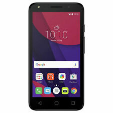 Alcatel Pixi 4 5-Inch 4G Black Smartphone