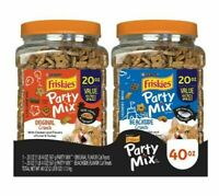 NEW Friskies Cat Treats Party Mix, 2 pack./20 oz. 40oz Total - FREE SHIPPING