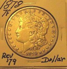 1878 7tf Morgan Silver Dollar Circulated