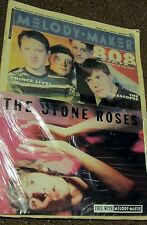 Melody Maker THE STONE ROSES suppliment & Full June 1990 Issue 808 State - NEW